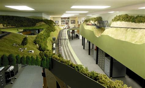 layout of railway workshop visit to a large layout o gauge railroading on line forum