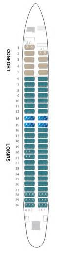 boeing 737 800 air austral plan cabine visite en 360