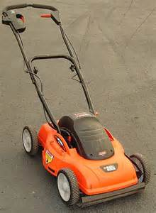 black decker lawn mower black decker hp 20 quot cut electric push mower