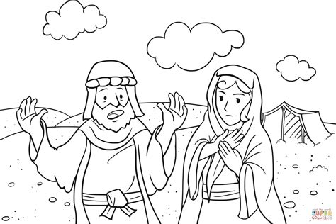 god coloring pages abram is called by god coloring page free printable