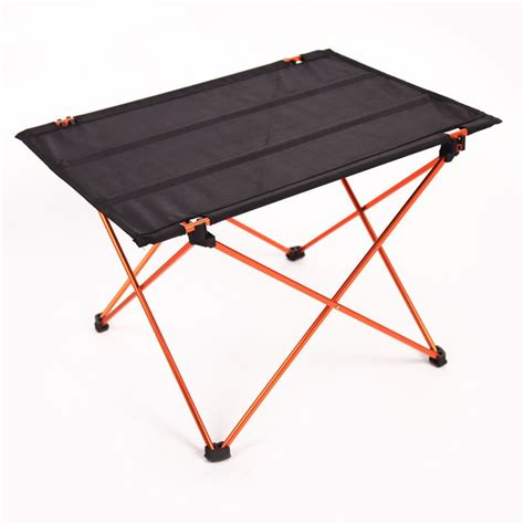 portable cing table lightweight light weight folding table genius 4 ledge lightweight