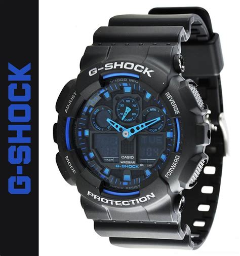 Casio G Shock Ga100 Original reloj casio g shock ga 100 1a2 100 original en caja s