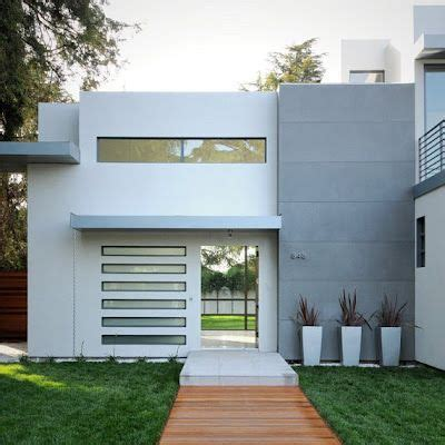 casa minimalista moderna 20 foto las 25 mejores ideas sobre fachadas para casas peque 241 as
