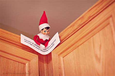 On The Shelf Santa by Note From On The Shelf