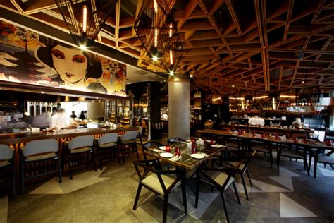 design cafe di indonesia bam senju restaurant by metaphor interior at plaza