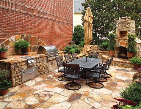 grilling porch outdoor living concepts house plans