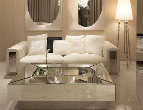 mirror tables for living room nella vetrina visionnaire ipe cavalli pelleas italian