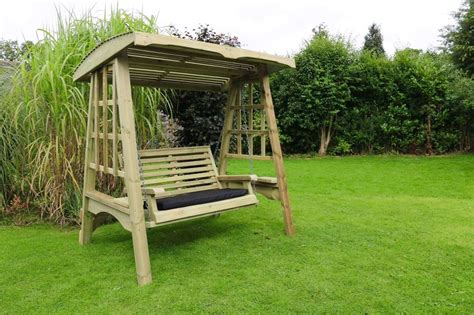 outdoor swing garden swing wooden garden furniture wooden swing