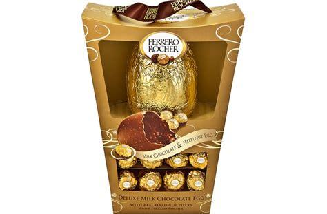 ferrero rocher easter eggs ferrero rocher luxury chocolate easter egg with 8