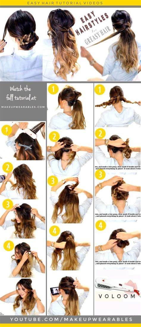 casual hairstyles for greasy hair 13 best haircut ideas images on pinterest hairdos long