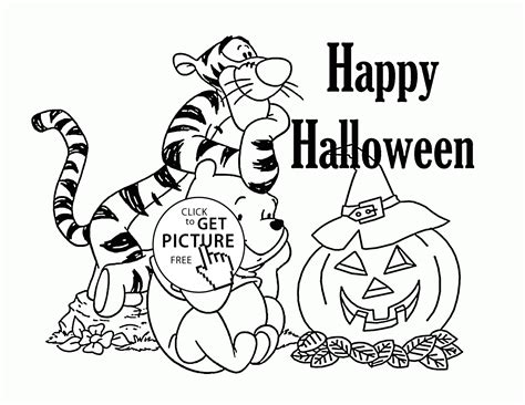halloween coloring pages winnie the pooh winnie the pooh halloween coloring pages for kids