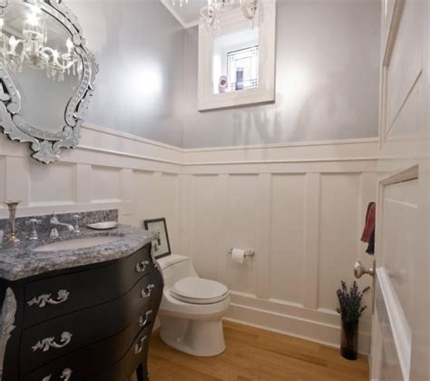 Powder Room Color Ideas bright and white traditional powder room vancouver
