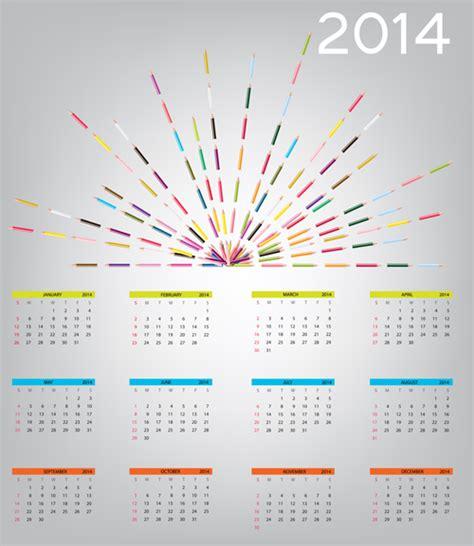 calendar design eps 2014 new year calendar design vector 01 vector calendar