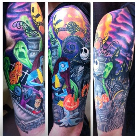 small nightmare before christmas tattoos nightmare before tattoos pt1