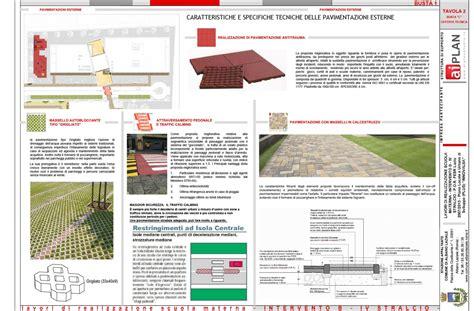 progetto giardino albano lavori di realizzazione piazzale scuola materna mensa e