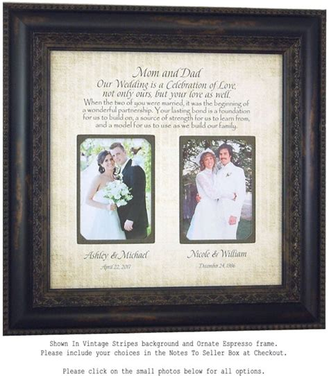 Wedding Album Gift For Parents by Parents Wedding Gift Wedding Frame For Of The