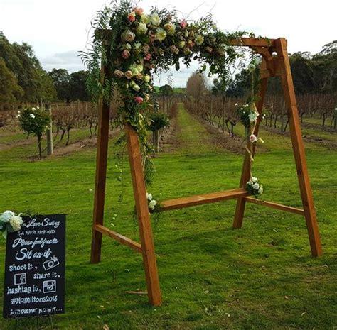 swing for ire wedding swing flower swing hire melbourne