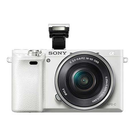 Sony Alpha A6000 Kit 16 50mm Putih jual sony a6000 kit 16 50mm putih harga dan spesifikasi
