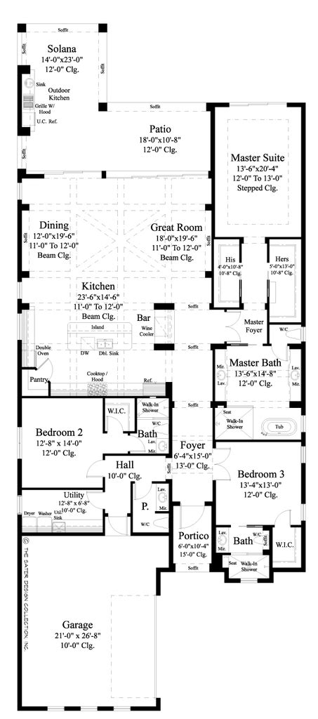 Luxury Narrow Lot House Plans by The Anvard Is A Luxury Villa Home Plan Designed With A