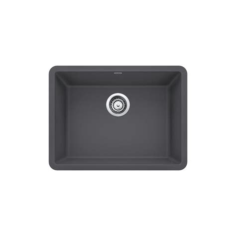 granite undermount kitchen sinks bowl blanco precis undermount granite composite 24 in single