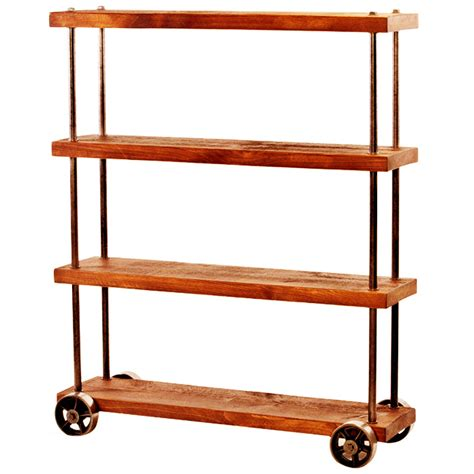 shelves on casters quot dept 87 quot industrial shelving cart on casters get back inc