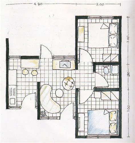 layout ruangan rumah contoh rumah mungil type 30 lengkap dengan layout tak