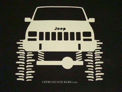 jeep cherokee sticker jeep cherokee xj sport rock crawler sticker decal 07 ebay