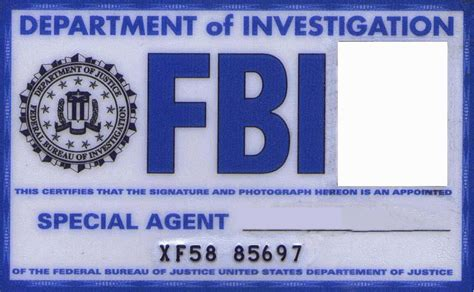 fbi id template fbi card by kogoromouri on deviantart