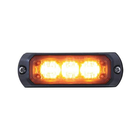 mini 3 led 12v 24v strobe light 37542b