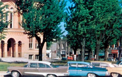 Paulding County Civil Search Paulding County Court House In Paulding Ohio 1958 Plymouth Savoy