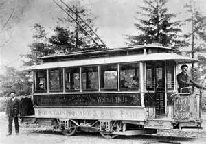 Electric Streetcar History Streetcars
