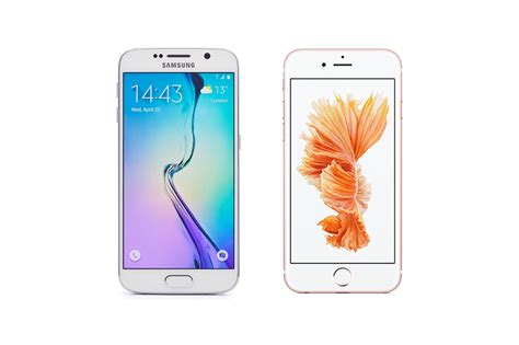 iPhone 6S vs. Samsung Galaxy S6 Edge   NerdWallet