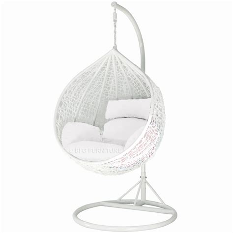 white swing chair swing chair classic white frame outdoor furniture