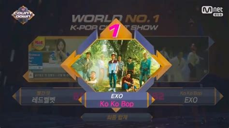 watch exo wins the jackpot of love in quot lotto quot mv soompi my sunshine 170727 exo grabs 2nd win for ko ko bop