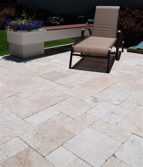 Travertine Patio Pavers Wholesale Ivory Travertine Pavers Quarry Direct Ct Ri Nj Va