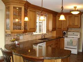 kitchen peninsula ideas for parents house pinterest