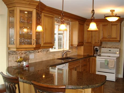 kitchen peninsula ideas for parents house