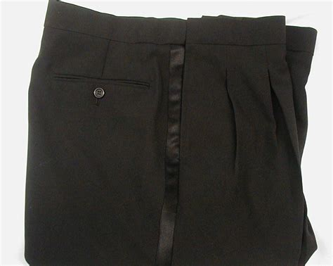 Tuxedo Pants for Men   Pleated