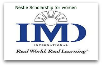 Imd Mba Cost by Nestl 233 Mba Scholarship For From Developing Countries