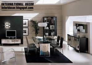 Modern Dining Room modern italian dining room furniture ideas black and white dining
