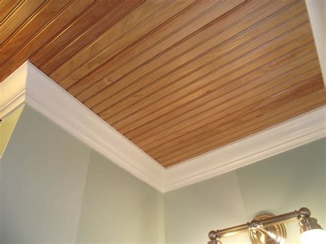 serendipity chic design putting up a bead board ceiling - Wood Beadboard Planks