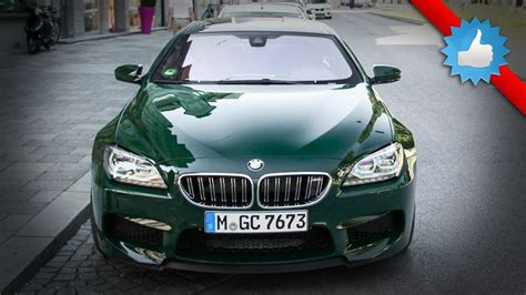 dark green bmw bmw m6 gran coupe with green paint special color youtube