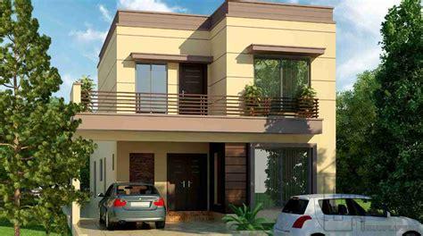 Delightful Floor Plans House #8: 3610_marla_house_front_elevation0.png