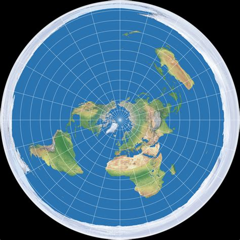 flat earth equidistant map projection license info azimuthal equidistant projection polar aspect