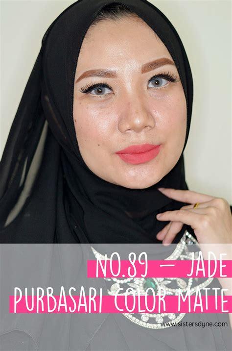 Lipstick Purbasari No 89 da review swatch purbasari lipstick