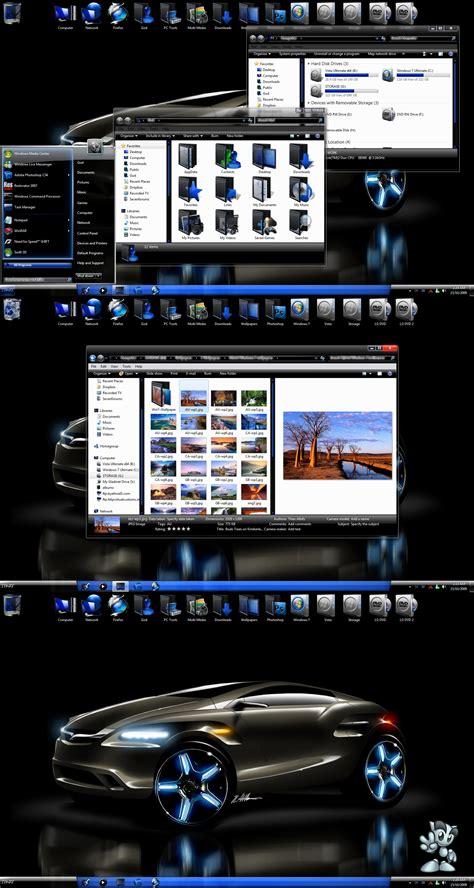 download theme windows 7 neon windows 7 neon tema chip online