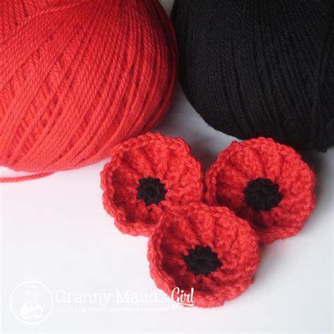 youtube poppy pattern crochet and poppies granny mauds girl