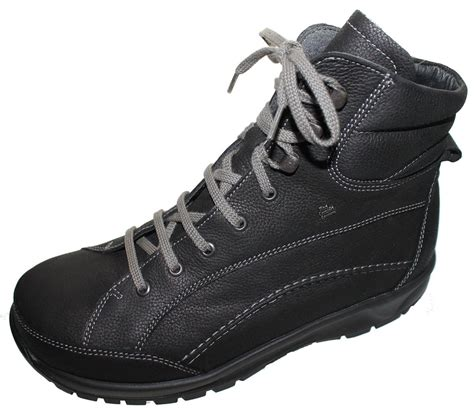 finn comfort boots finn comfort whistler boots black wool lining longbeach