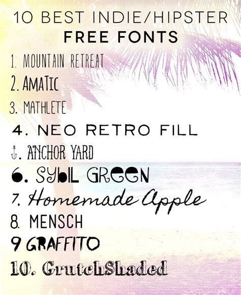 tattoo fonts hipster 10 best free fonts freefonts