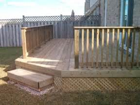 small backyard deck yard ideas pinterest